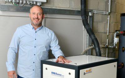 Firma Duall ist Partner von RMB/ENERGIE in Belgien